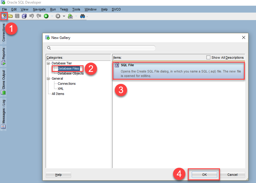 PL/SQL anonymous block - sql developer