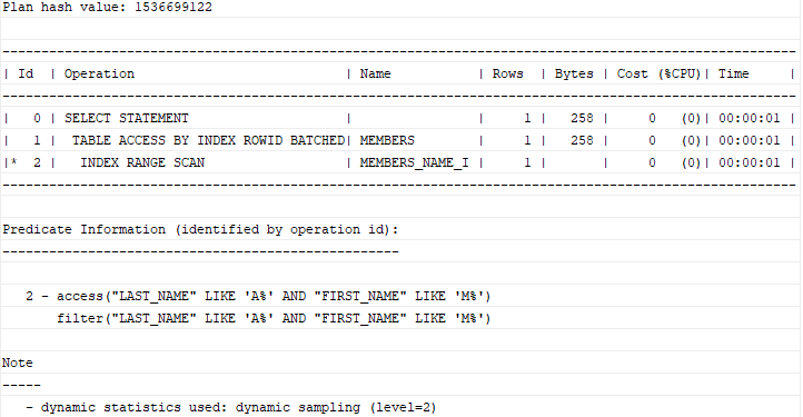 Oracle CREATE INDEX - Creating Indexes for One or More Columns