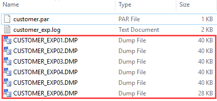 Oracle Data Pump Export - Unloading Data From the Oracle Dataabase