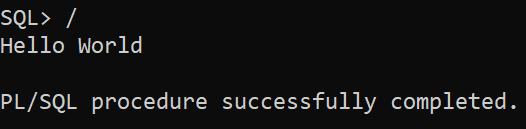 plsql anonymous block - execute a block again